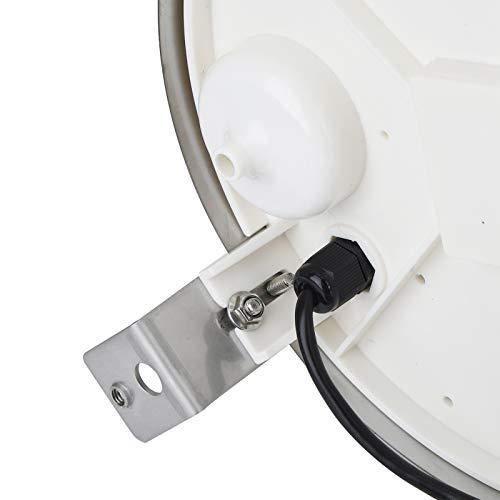 KAKAKE Capteur de pluviomètre à Haute sensibilité Pluviomètre à Forte Endurance avec Bulle d'ajustement de Niveau