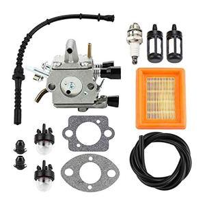 Kit de remplacement de filtre à air carburateur pour Stihl FS120 FS200 FS250 FS300 FS350 FR350
