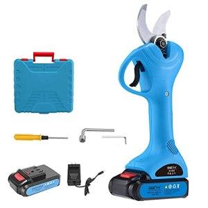 LZHi1 Sécateur électrique sans Fil Professionnel Sécateur pour Branches D'arbres Alimenté par Batterie 2Ah Diamètre De Coupe Réglable Ciseaux D'élagage électriques