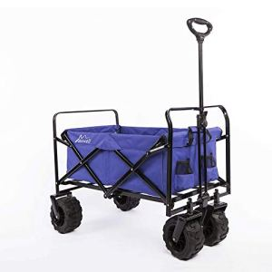Maxwell Outdoor Chariot de Plage Pliable et Pliable Violet