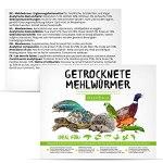 MeerBach & Rose vers de Farine Séchés dans Un Seau – 800g= 5000ml – Nourriture pour Poissons, Oiseaux Tortues, Hérissons, Rongeurs et Reptiles