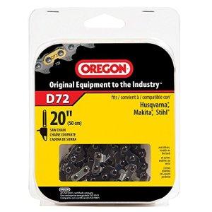 Oregon D72Premium Vanguard Chaîne de tronçonneuse noir