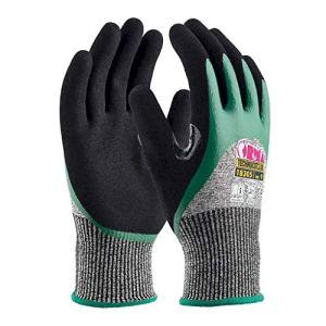 Orma 18305GO100_72 Gants de travail, gris/vert/noir