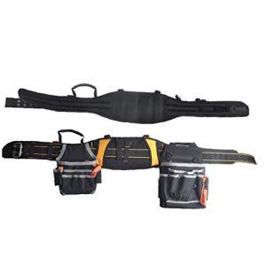 Outil de ceinture Sac pochette Clou de poche Tablier rembourré robuste réglable pour le bricolage électricien Carpenter Joiner