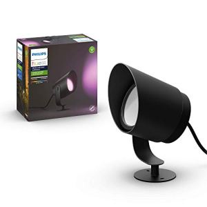 Philips Hue White and Color ambiance LILY, Spot XL 1x15W noir