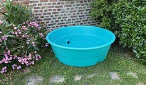 Plast'Up Rotomoulage POOLETTE Piscine rotomoulée pour Enfants Coloris Bleu 250l