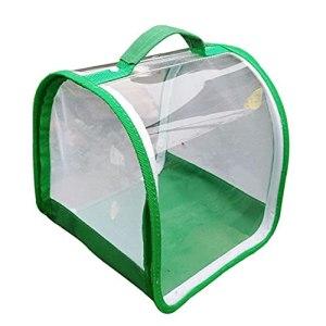 Pliable insectes Mesh 360 degrés Cage Habitat transparent pour Terrarium Accueil Fournitures d'incubation