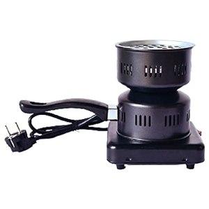 QILIN Brûleur à charbon multifonction, kit de démarrage pour narguilé, narguilé, barbecue, acier inoxydable, revêtement en porcelaine, technologie de chauffage rapide