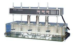 RC-6 Testeur de dissolution de comprimés et de gélules Analyse de 6 récipients Détecteur de taux de dissolution et de degré (220V)
