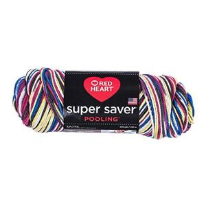 RED HEART E300P.8302 Super Saver Yarn Pooling Carnival.