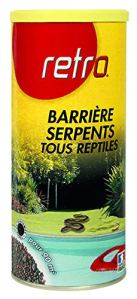 Retro Barriere Serpents-Tous Reptiles en GRANULES 800g RESER7