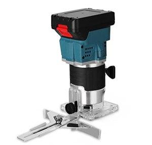 Riiai Machine électrique sans fil, outil de menuiserie, machine de coupe électrique, utilisée pour le rainurage, la coupe et la gravure