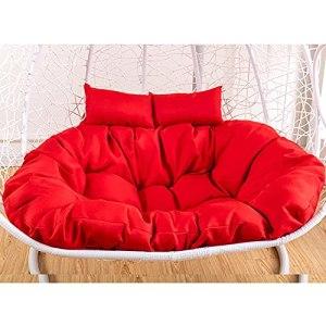 Swing Siège oiseau oiseau nid chaise coussin suspendu panier oeuf hamac d'œuf épaississement chaise tapis de tissu pour jardin extérieur intérieur platets multicolore pour choisir, sans fauteuil wangY
