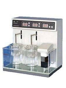 Testeur de dissolution de comprimés et de capsules Analyses 2 récipients Détecteur de dissolution et de degré (220V)