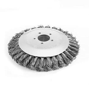 Tête de débroussailleuse en fil torsadé épais de 15,2 cm/20,3 cm pour tondeuse à gazon, coupe-fil, scie à corde, débroussailleuse, pour la maison, le jardin