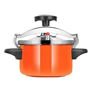 TIEHH Cuisinière à Pression Anti-Explosion en Alliage d'aluminium, Mini cuisinière à gaz/cuisinière à Induction Steamer Universel, Camping en Acier Inoxydable extérieur (Color : 3L)
