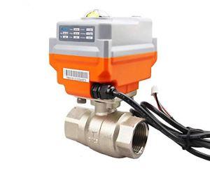 Tivivose 24V 4-20MA / 0-10V 1/2″Vanne électrique intégrale de commande intégrale proportionnelle proportionnelle 23/2″ DN15