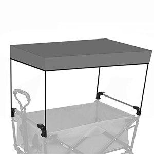 TZCC Auvent de Chariot Pliant/Protection Contre la Pluie et Le Soleil/adapté aux poussettes de Camping en Plein air, Petites poussettes, épiceries, poussettes, toits à baldaquin