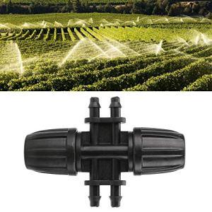 Uxsiya Connecteur de Tuyau en Plastique raccord d'irrigation de Jardin raccord de Tuyau d'arrosage Robuste pour Le Jardinage à la Maison des espaces Verts publics