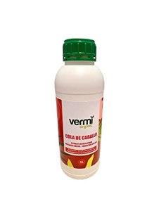 VERMIORGANIC Fongicide Biostimulant Purin de Prêle Bio, 1L. Préventif et curatif des Maladies fongiques.