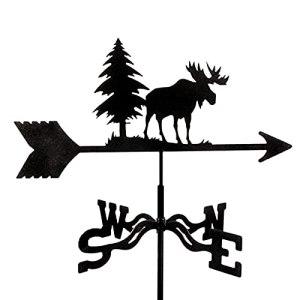 YDHNB Girouette en Animal avec Style Vintage Orientation du Vent Indicateur pour Jardin Toit Paddock – Décoration