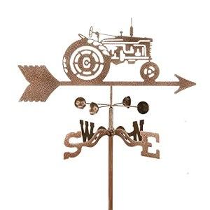 ZOSUO Girouette Tracteur Indicateur de Direction du Vent Durable Rétro Pieu De Jardin Girouette Outils De Mesure Weathercock pour Toit De Jardin Cheval