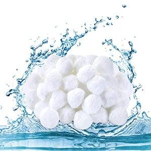Zovator Balles Filtrantes, Boules de Filtre de Piscine, Filtre à Sable à Billes en Remplacement de Sable filtrant,Alternative pour 25 kg de Sable Filtrant (700g)