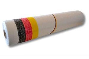 1 rouleau de filet à balles rondes OCTANET « Germany » – noir/rouge/or – blanc – 1,23 x 3000 m