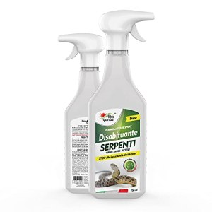 Albagarden – Déshabituant à repousser les vipères et les reptiles, pas de clôtures, effet chasse animaux, sans veines et ultrasons, 750 ml