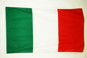 AZ FLAG Drapeau Italie 150x90cm – Drapeau Italien 90 x 150 cm – Drapeaux