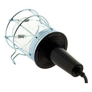 Baladeuse métal filaire 60W E27 sans ampoule 5m