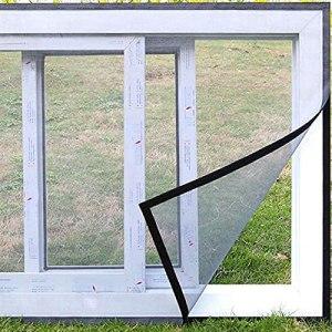 BMCC Moustiquaire pour fenêtre (Mosquito Net 130 x 150 cm)