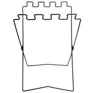 BWLZSP Support de Poubelle en Plastique, Support de Sac Poubelle portatif de Pique-Nique pour Barbecue Protection de l'environnement étagère Pliante en Fil de Fer