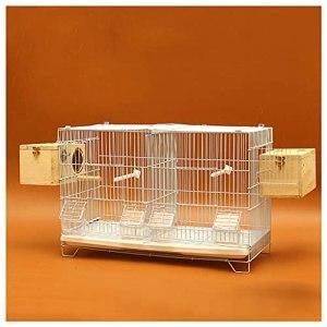 Cage à Oiseaux Observation des oiseaux Cages avec des cages de perroquet nette.Les cages d'élevage d'oiseaux sont utilisées pour les troupeaux d'élevage d'oiseaux ou de perruches, de cacatoès et de □