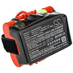 cellePhone Batterie Li-ION Compatible avec Gardena McCulloch Rob R600 R1000 – Husqvarna Automower 105 305 308 (Remplacement pour 586 57 62-02/589 58 61-01) – 1500 mAh / 18,5V