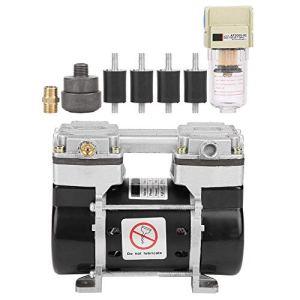 CHHD Compresseur d'air, VN-40V Compresseur d'air sans Huile Ultra Silencieux, Pompe à Silencieux intégrée sous Vide 220V 130W