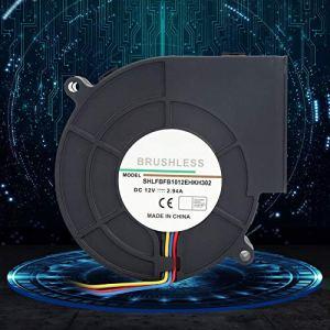 Chiciris Ventilateur de turbine CC 18 – 32,4 W avec roulement à billes haute précision 7,97 CFM pour centre de données