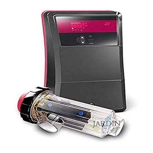 CLORADOR SALINO facile à installer et à manipuler, taille au choix (40 g cl/h – Recommandé jusqu'à 160 m3)