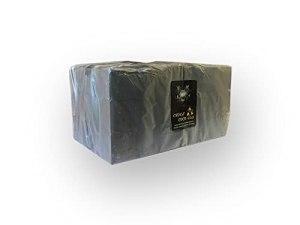 CROCS COCO Charbon de noix de coco doré – Avec une longue durée de combustion – 27 x 27 mm – Faible production de fumée – Charbon naturel durable – Cubes de charbon de qualité supérieure – 1 kg