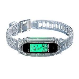 Dan&Dre Bracelet de rechange en silicone étanche pour Mi Band 6/5/4/3