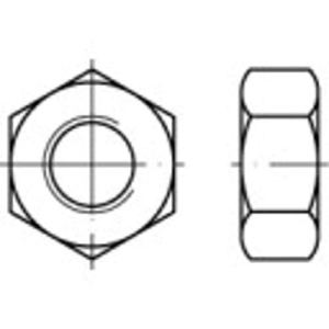 Écrou hexagonal M4 TOOLCRAFT TO-5449941 DIN 934 laiton 100 pc(s)