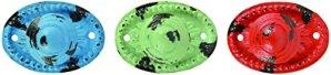 Esschert Design HW13 Poignée de porte ovale Multicolore