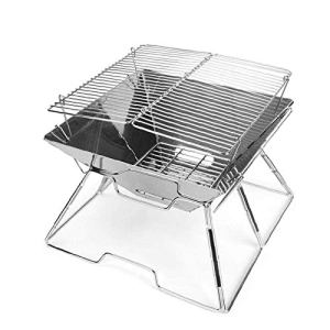 Extérieur Portable Barbecue Barbecue Pliable Barbecue Barbecue étagère Carbone cuisinière Camping Jardin Cuisine Outils en Acier Inoxydable charial Gril Camping