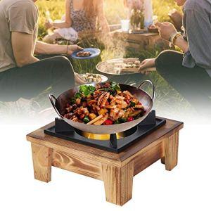 FECAMOS Four Portable, cuisinière Large Gamme d'applications Pratiques pour Faire Une variété de Plats délicieux