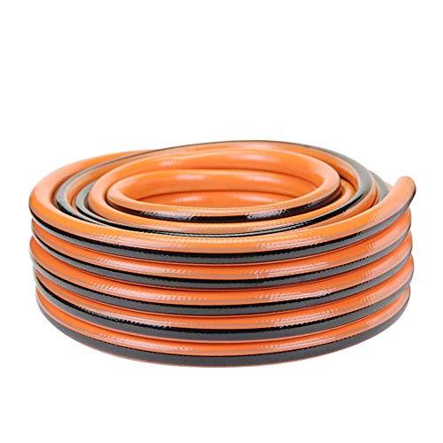 FMLSDMSG Tuyau d'arrosage Extensible Tuyau D'arrosage, Tuyau D'arrosage Domestique Garde PVC Tuyau Antigel Lave-Auto en Plastique 4 Points 1/2 in (Size : 100M)