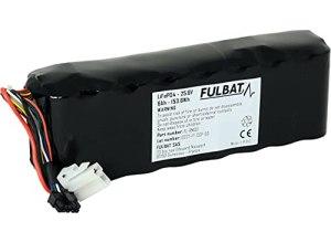 FULBAT – BATTERIE ROBOT TONDEUSE ROBOMOW 25,6V 6AH 153,6Wh LiFePO4