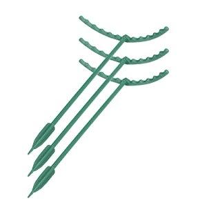 Funming Support de plante réutilisable en plastique demi-rond pour jardinage, cour, balcon