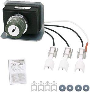GFTIME 7628 Kit d'allumage pour barbecues à gaz Weber Genesis 310 & 320 avec Commande Avant (2011 – Plus récent), allumeur électronique, kit d'allumage d'électrodes pour Weber Genesis 300 Series