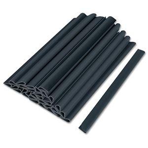 HENGMEI Lot de 30/50 clips de fixation pour bandes en PVC brise-vue pour clôture en filet 30 pièces, anthracite.