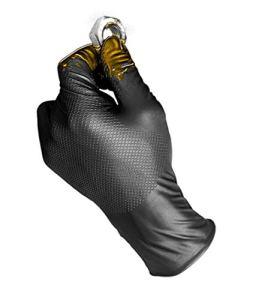 Juba Gant en nitrile ambidextre, taille L Noir